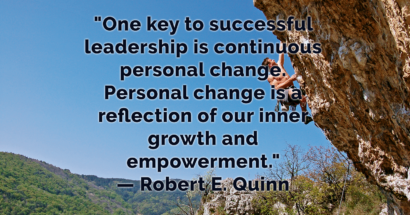 Is Your Leader Interested In CHANGE?